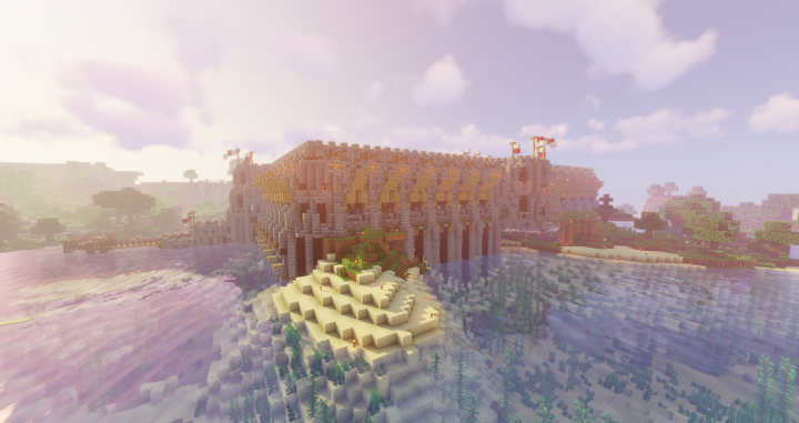Medieval PVP Arena Minecraft Map