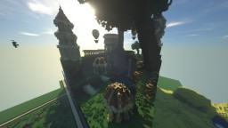 Fantasy // Roman // Library // Valley Minecraft Map & Project