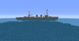 Bari, italian ligth cruiser Minecraft Map & Project