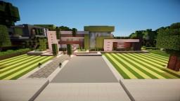 Ultra Modern House Minecraft Map & Project