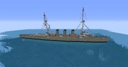 Taranto, italian ligth cruiser Minecraft Map & Project