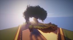 Fantasy // Eco // Hand // Tree Minecraft Map & Project
