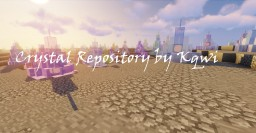 Crystal Repository Minecraft Map & Project