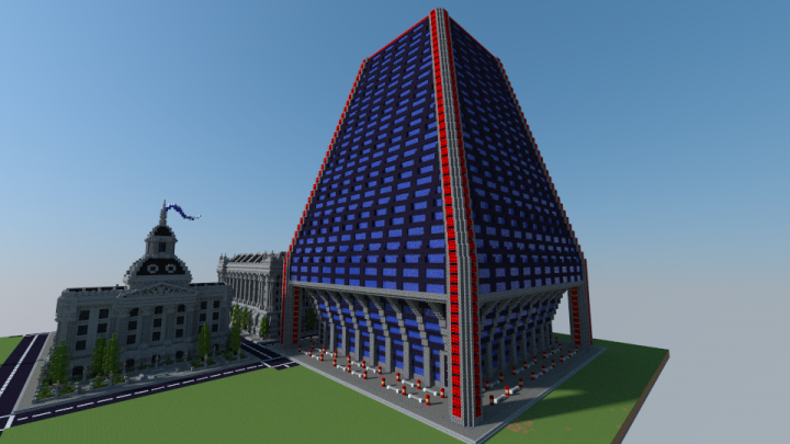 Plymouth Arcology - Sim City 2000 Minecraft Project