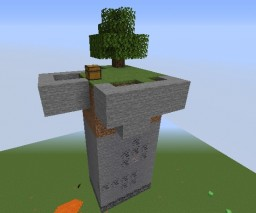 Skyblock with more stuff Minecraft Map & Project