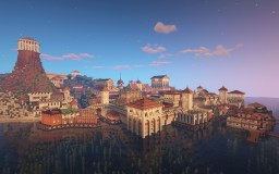 Navaroza - A Mediterranean port city Minecraft Map & Project