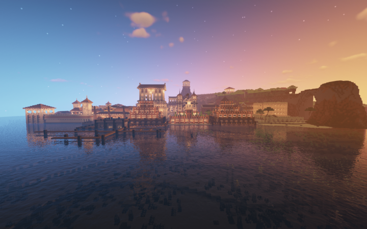 These docks are still a work in progress. I want the Port to be a significant part of Navaroza.