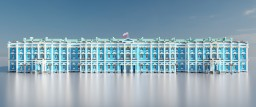 Russian Rococo palace Minecraft Map & Project