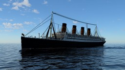 RMS Aquitania - 3:1 Scale Minecraft Map & Project