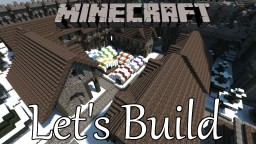 Snowy Kingdom Market Minecraft Map & Project