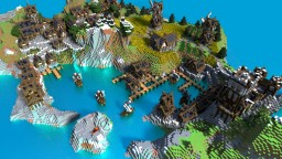 Syrene | Coastal Town Update #1 Minecraft Map & Project