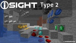 iSIGHT Red Green Color Blindness Texture Pack Addon Type 2 | [1.14.x] | Red Green Colour Vision Deficiency Aid | Protanopia Deuteranopia | Glow in the Dark (Optifine) Minecraft Texture Pack