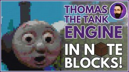 Thomas the Tank Engine Theme   Minecraft Note Block Song Minecraft Map & Project