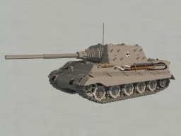 Panzerjäger Tiger Ausf. B «Jagdtiger» Minecraft Map & Project