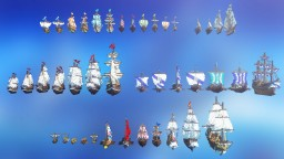 Ethyria Ship Pack [Download] Minecraft Map & Project
