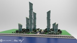 Bamboo city Minecraft Map & Project