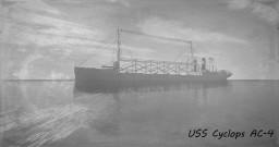 USS Cyclops (AC-4) Minecraft Map & Project