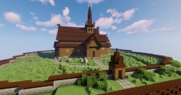 Lom Stave Church - Norway Minecraft Map & Project