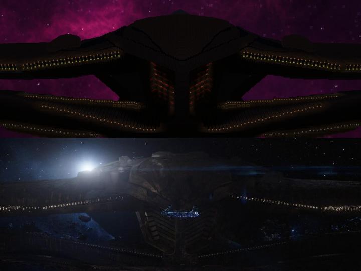 Thanos' Ship Sanctuary II Minecraft Map