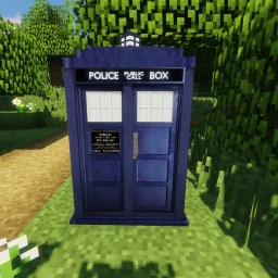 Doctor Who World - Working TARDIS - 1.14.x Minecraft Map & Project