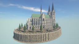 Werderaner Dom -- Gothic Cathedral #3 -- Conquest Reforged Minecraft Map & Project