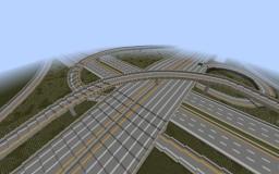 St. Andrew Interchange Minecraft Map & Project