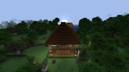 House modern and old style with indoor pool,a biologic center and a bunker Minecraft Map & Project