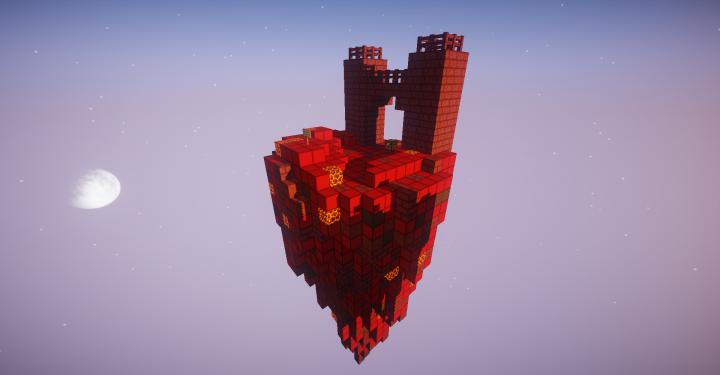 PorkCraft skyblock] Nether island (Special) Minecraft Project