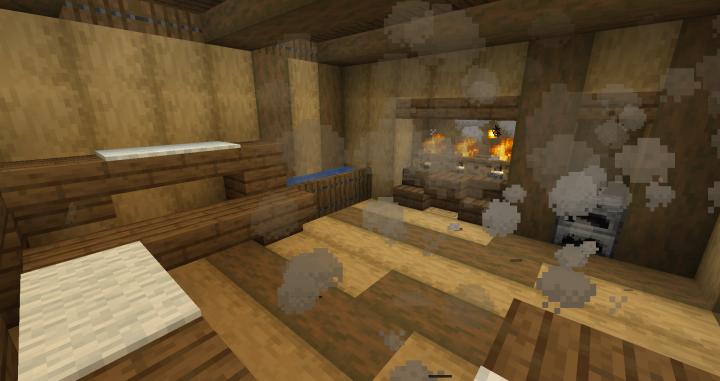 Minecraft Sauna