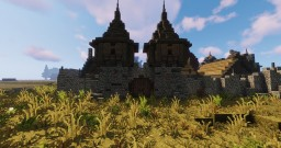 Holmstarl - An Human Town Minecraft Map & Project
