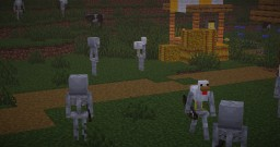Chicken Skeletons - Cheletons Minecraft Texture Pack