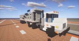 1.5:1 Scale  Mack DM Truck and Hilbilt Dump Trailer Minecraft Map & Project
