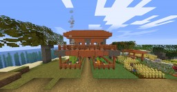 Acacia tree starter house 1.14.x Minecraft Map & Project