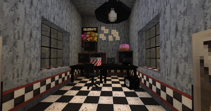 Five Nights At Freddy's Ultimate Minecraft Project