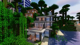 Three house pack Minecraft Map & Project