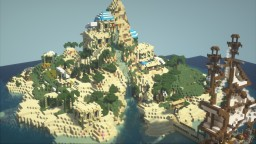 Greece Island beach resort Minecraft Map & Project