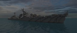 Akizuki-class destroyer (1942) Minecraft Map & Project