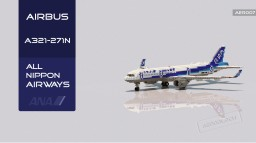 Airbus A321-271N All Nippon Airways [+Download] Minecraft Map & Project