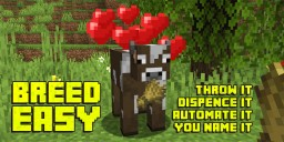 Breed Easy Minecraft Data Pack
