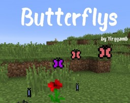 Butterflys Minecraft Data Pack