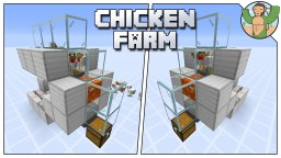 Classic Chicken Farm 2.0 for Minecraft 1.14 Minecraft Map & Project