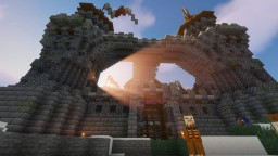 🏹The Raider Fort (Dungeon)🏹 Minecraft Map & Project