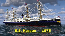 S.S. Hessen 1875 Minecraft Map & Project