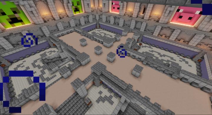 Mob spawner area