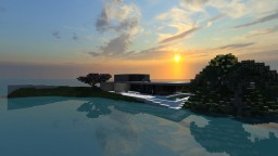 B&B - Minimalist House | ANTARES Minecraft Map & Project