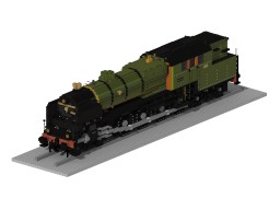 NS 6300 | 5:1 Steam train Minecraft Map & Project