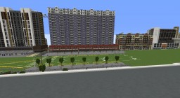 Large scale modern Minecraft Map & Project