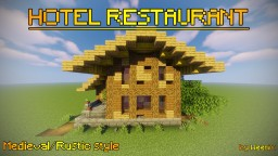Hotel Restaurant   Medieval Style Minecraft Map & Project