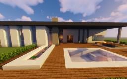 "Modern House | ""Slate"" (1.14) Minecraft Map & Project"