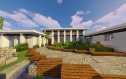 Modern House | Contemporary (1.12+) Minecraft Map & Project